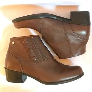 Dr. Scholl's Button Close Ankle Booties